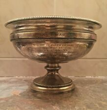 1944 Man of War Cup Trophy: Tiffany & Co Makers Sterling Silver
