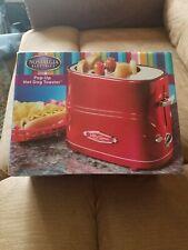 Nostalgia Electrics Retro Series Pop-Up Hot Dog Toaster New
