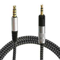 Replacement Audio Cable Cord W/ Mic For Sennheiser HD598 HD558 HD518 Earphone