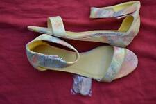 I Lov Billy Citrus Multi  LEATHER-LOOK Sandals Womens' Size 7-38/EUR MARE Design