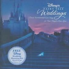 NEW Disney's Fairy Tale Weddings (Instrumental) (Audio CD)
