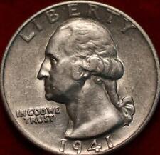 1941-D Denver Mint Silver Washington Quarter