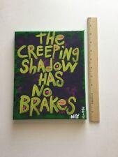 Art Painting Original Creeping Shadow No Breaks Pop Art Acrylic Canvas Nayarts