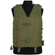 Mil-Tec Army Tactical MOLLE Carrier Vest Military Combat Webbing Airsoft Olive