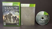 Halo Reach -  Microsoft Xbox 360 Complete Tested 1 Owner Near Mint Disc