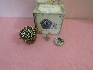 Boyds Bear Love's Truffle w/Cupid McNibble Treasure Box ~Retired~  NIB