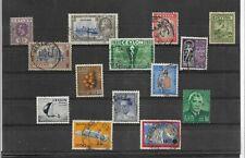 Ceilan Valores diversos del año 1921-71 (EZ-521)
