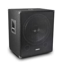 """B-Stock Vonyx Speaker Subwoofer Deep Low Bass Sub DJ Disco Club Party 18"""" 1000w"""