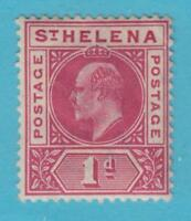 ST HELENA 49  MINT HINGED OG *  NO FAULTS VERY FINE !
