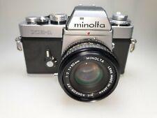 Minolta XE-1  m. Minolta MC Rokkor-PF 50mm 1:2 Objektiv