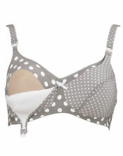 Anita 5034 Stone (Grey) Polka Dots Nursing Bra wire free  38G NWOT 40F