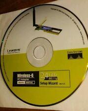 WMP54G Linksys Wireless-g PCI 54mbps Wireless Adapter
