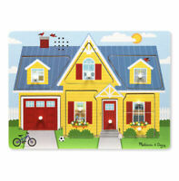 Melissa and Doug Around the House Sound Puzzle - 10734 - NEW!