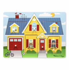 Melissa and Doug Around the House Sound Puzzle - 10734 - NEW!