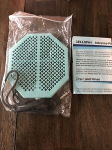 "Cell Spa 2 Pack CS-900 Twice Powerful 6.5"" x 5.5"" Ion Detox Foot Bath Arrays NEW"