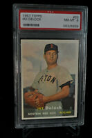 1957 Topps - Ike Delock - #63 - PSA 8 - NM-MT