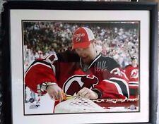 """~Martin Brodeur New Jersey Devils Signed 16X20 Steiner COA 23x26"""" Frame NHL HOF~"""