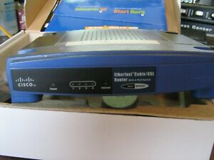 Linksys:  BEFSR41 Ethernet Cable/DSL Router with 4-Port Switch. w/ Adptr,$SALE$