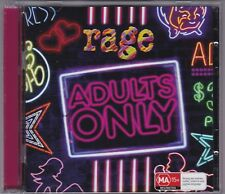 Rage - Adults Only - CD & DVD (ABC 2010)