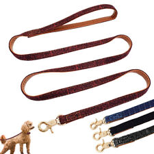 4ft Nylon Dog Leash Pet Walking Leads With Padded Handle for Small Dogs Puppy