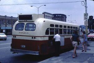 The Blue Line Inc GM New Look Bus Kodachrome original Kodak Slide