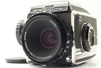 [Near MINT] Zenza Bronica Model C 6x6 Film Camera w/ Nikkor P 75mm F/2.8 Japan