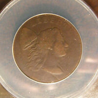 1794 Capped Liberty Large Cent, S-28, VG-8