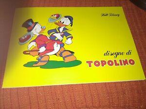 Walt Disney Album Da Disegno Originale Anni 80