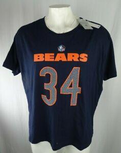 "Chicago Bears NFL Team Apparel Men's ""Walter Payton #34"" Graphic T-Shirt"