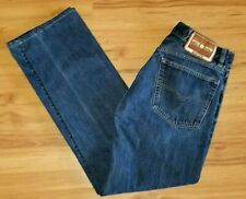 Diesel Kratt Jeans Straight Leg Blue Denim Size 33x34 Fits 31x30 Button Fly