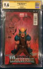 FRANK CHO SIGNED sketch Wolverine  #1 CGC 9.6 Comic not CBCS Logan X-Men