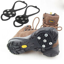 1pair Walking Cleat Ice Gripper Anti Slip Snow Walking Ice Crampon For Shoes