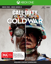 COD Call of Duty Black Ops Cold War Xbox Series X, Xbox One Game NEW