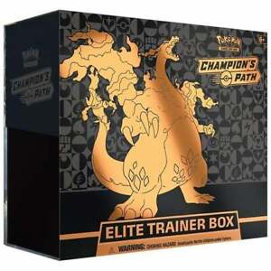 Pokemon Champions Path Elite Trainer Box New And Sealed In Hand