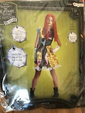 NEW Sally Nightmare Before Christmas Deluxe Child XL (14/16) Halloween Costume