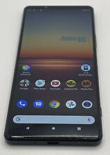 New listing Sony Xperia 1 Ii Black 256Gb Single-Sim Android Factory Unlocked Gsm 5G