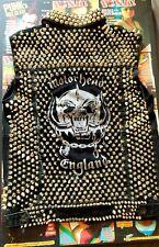 Studded Punk Jacket motorhead brooke candy halsey rock lemmy battle metal