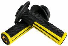 ODI Emig *PRO* Lock-On V2 Grips -BLACK/YELLOW- (2&4-Stroke) MADE IN USA
