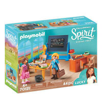 70121 Playmobil Spirit Miss Flores' Classroom Spirit Riding Free Suitable for ag