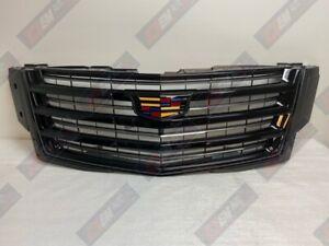 2015.5-2020 Cadillac Escalade Black Sport Platinum GM OEM Front Grille