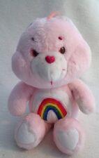 Pink Care Bear Cheer Bear Vintage 1983 Rainbow. Kenner