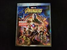 Avengers Infinity War Blu Ray+Slipcover With DMR