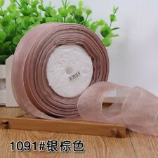 Organza Ribbon 50 Yards Lot For Gift Wrapping Christmas Wedding Party Decoration
