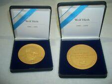 Wolf Hirth Medaille des Luftfahrtverband Baden-Württemberg an Reinhold Kühne