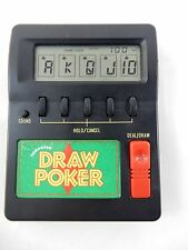 Waco Products Electronic Draw Poker Handheld Travel Game Model 06904