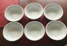 Set Of 6-Oneida CROWN REGO WHITE Fruit, Dessert, or Sauce Bowl