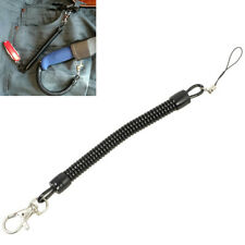 New Retractable Spring Coil Spiral Stretch Chain Keychain Key Ring Spring Rope