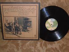 The Grateful Dead Workingman's Dead Warner Bros. 1869 stereo 1970 org pres VG+