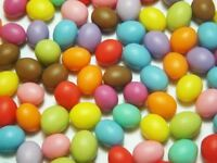 100 Dollhouse Miniature Easter Eggs * Doll Mini Tiny Food Candy Egg Wholesale