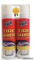 FGA1 Tire Shine [2] High Gloss 15oz Aerosol Spray Wet Look Dressing